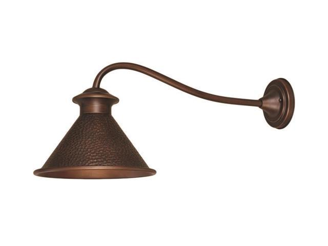World Imports 9004-86 Dark Sky Essen 12-Inch Single Lgt Long Arm Outdoor Wall Sconce, Antique Copper