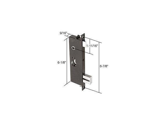 Screen and storm door mortise lock insert 6 7 8 39 39 screw for Storm door screen insert