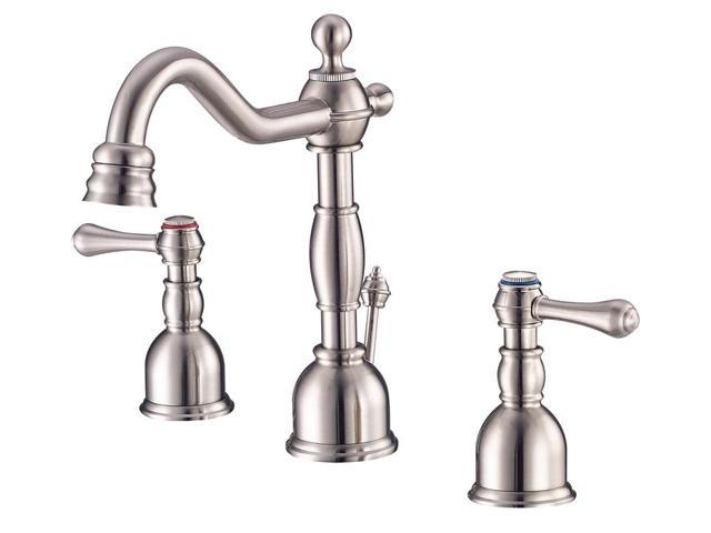 danze d303057bs opulence two handle mini wide spread lavatory faucet