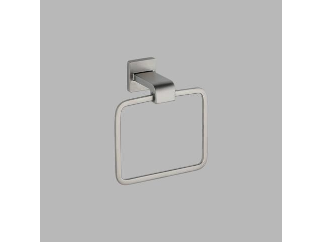 Delta-77546-SS Arzo, Towel Ring, Stainless