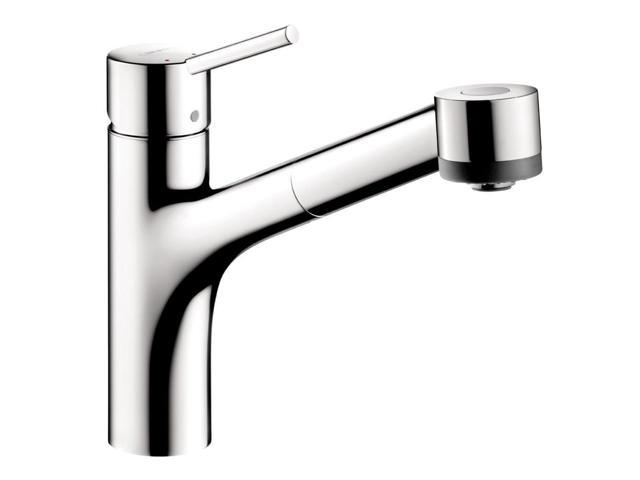 Hansgrohe 6462000 Talis S Single-Handle Pull-Out Sprayer Kitchen ...