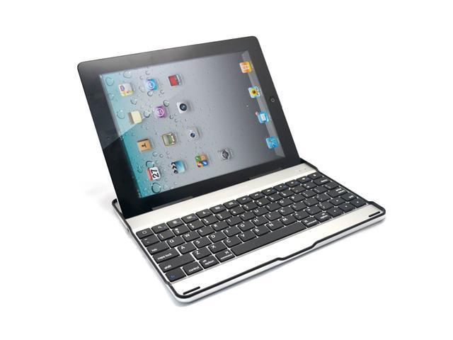 iPad2 Built-In Bluetooth Aluminum Keyboard (Black)