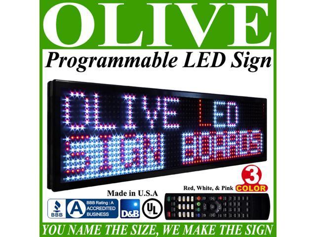 Olive LED Signs 3 Color p20, 28