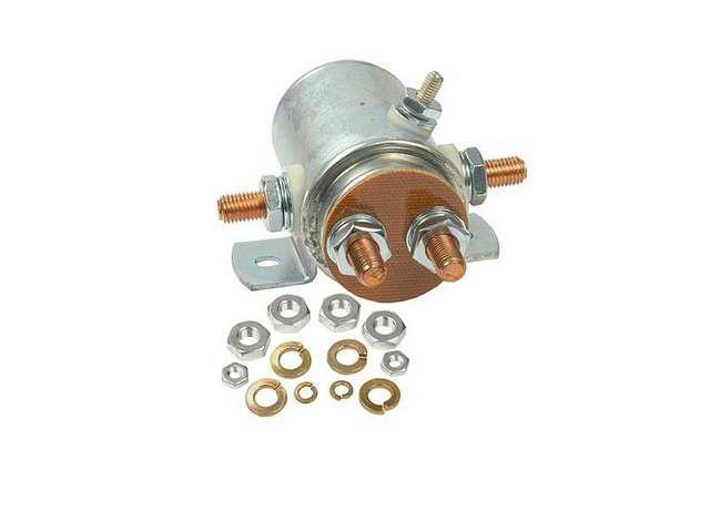 NEW 5 POST 12V SOLENOID FOR WINCH WITH ROUND ASSEMBLY MOUNTED 15-301 240-01009