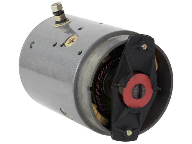BOSS SNOW PLOW SKIDMORE EQUIPMENT JS BARNES PUMP MOTOR w8958 46812 67-2150 672150 MDY6125 MDY6125S