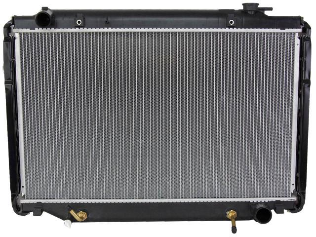 RADIATOR ASSEMBLY FITS TOYOTA 95-97 LAND CRUISER 4.5L L6 4477CC TO3010140 CU1917 2196 TO3010140 7292 16400-66081 431441