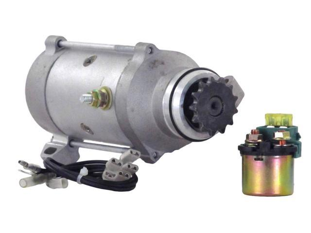 STARTER MOTOR FITS WITH SOLENOID 80-82 HONDA GOLDWING GL1100 31200-463-008 SM224