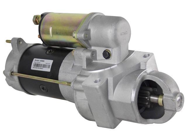 STARTER FITS 24 Volt Cucv Military Equipment 6.2l Gm Diesel Engine M1008 M1009...