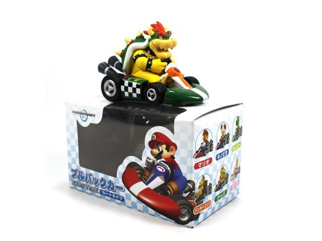 Nintendo mario kart wii pull back car bowser in kart for Coupe miroir mario kart wii
