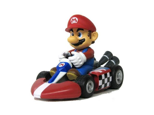 Nintendo mario kart wii pull back car version 2 mini for Coupe miroir mario kart wii