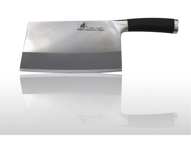 "Zhen Japanese VG-10 Heavy-Duty Cleaver Chopping Chef Butcher Knife 8"" (Bone Chopper)"