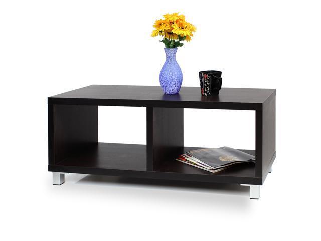 Furinno XBF65-E Nihon Dual-function TV Stand/Coffee Table - Espresso)