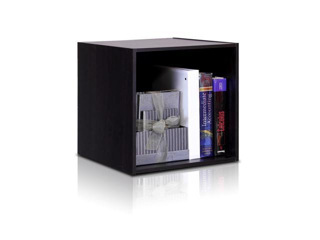 Furinno 11011EX Hidup TROPiKA Eco Modular Open Cube Storage System, Espresso