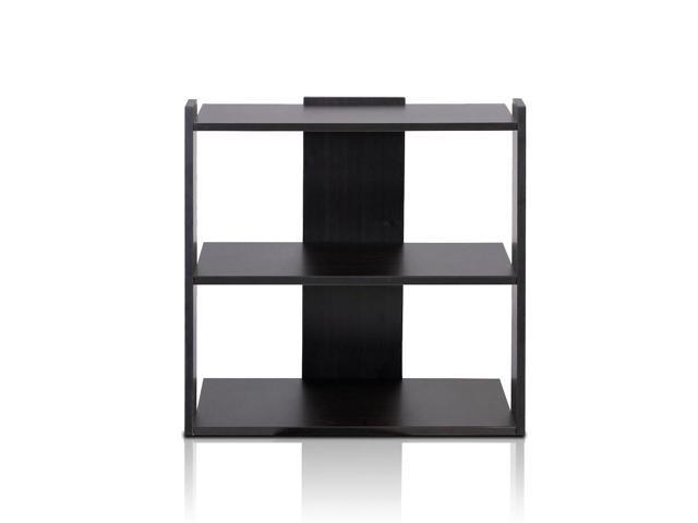 Furinno 11074EX TROPiKA Mini Ladder Shelf (Espresso)