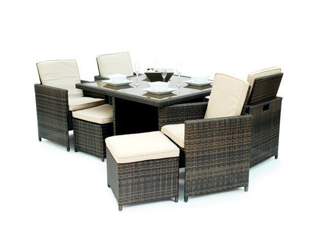 Kontiki Cube Patio Furniture By Patio Furniture Kontiki 9 Piece Cube Dining  Set Newegg Com ...