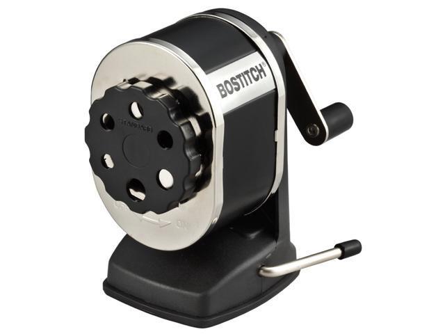 Stanley Bostitch Vacuum Manual Pencil Sharpener, Black (MPS1SC-BLK)