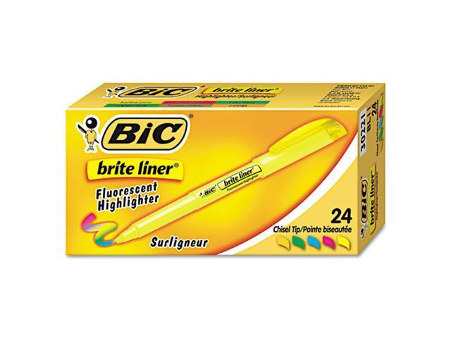 Brite Liner Highlighter Chisel Tip Assorted Ink 24 per Set