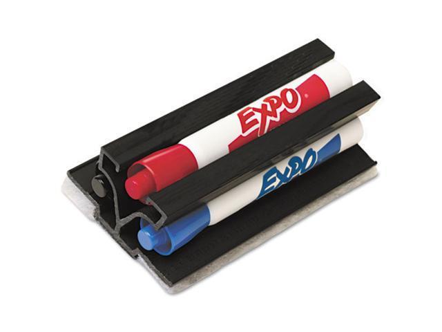 Sanford Expo Markaway3 Eraser & Dry Erase Whiteboard Markers Set, Chisel, Assorted, 3/Set, EA - SAN81503
