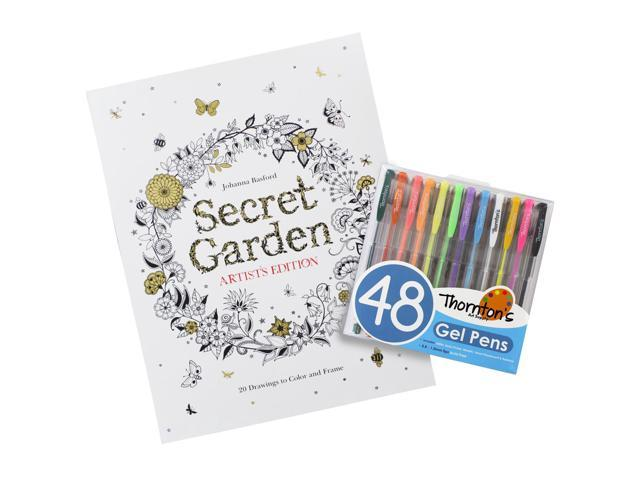 Secret Garden Artists Edition Coloring Book With Thornton