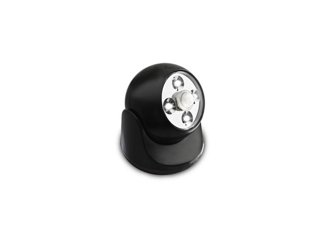Battery Powered Motion Light - BLACK