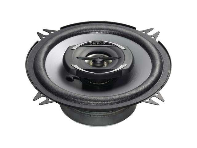 Clarion SRG1322R G Series Coaxial Speaker System - 5.25 in.; 230W Max; 30W Rms; 1 in. Metallized Pei Bala