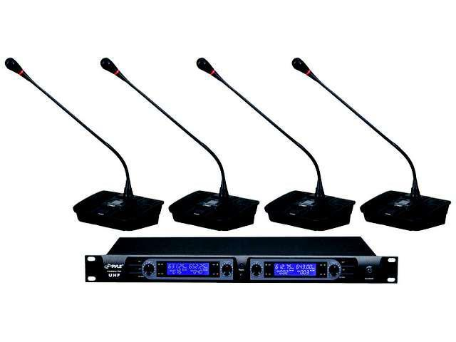 Pyle Pro UHF Selectable Frequency Wireless Microphone - PDWM4700