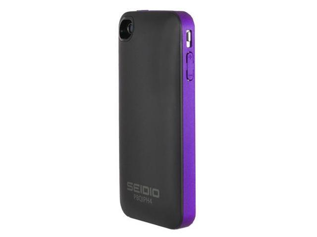 Seidio SURFACE Plus Amethyst 1700mAh Battery Case For iPhone 4 / 4S PBQIPH4-PR