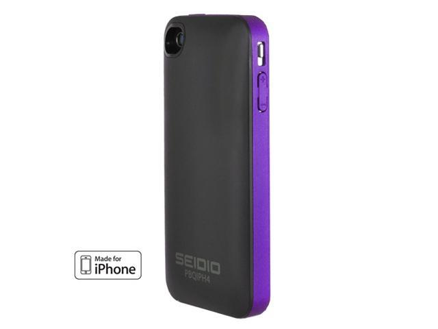 Seidio SURFACE Plus Combo Amethyst 1700mAh Battery Case For iPhone 4/4S BD2-HQIPH4-PR