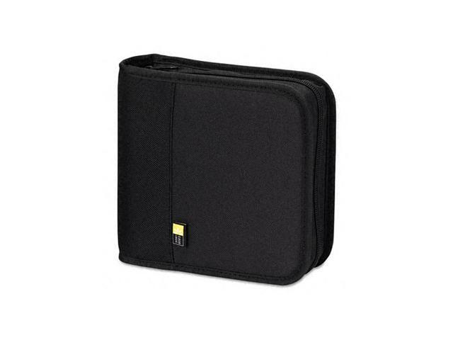 CD/DVD Expandable Binder, Holds 24 Disks, Black - BNB24