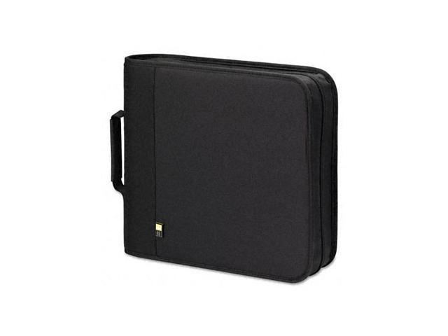 CD/DVD Expandable Binder, Holds 208 Disks, Black - BNB208