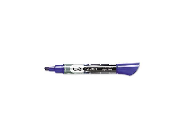 EnduraGlide Dry Erase Markers, Chisel Tip, Blue, Dozen - 50013M
