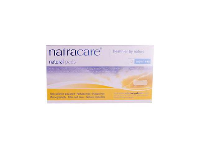 Natural Maxi Super Pads - Natracare - 12 - Pad