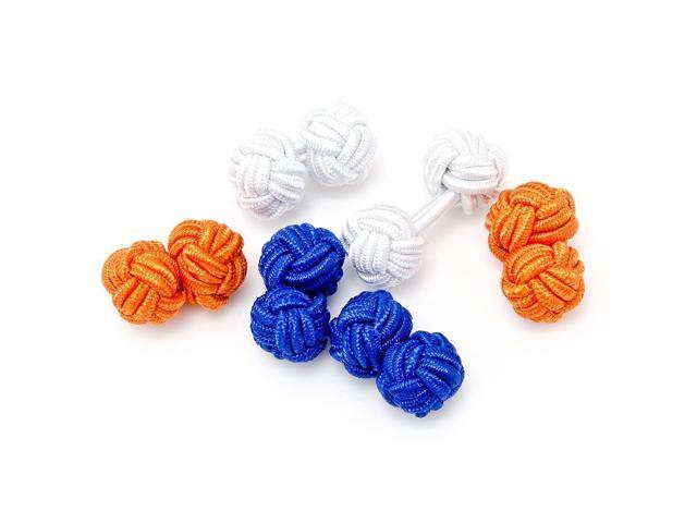 Summer Silk Knot Cufflinks