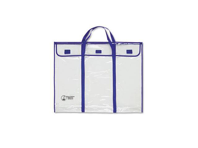 Bulletin Board Storage Bag, Blue/Clear, 30