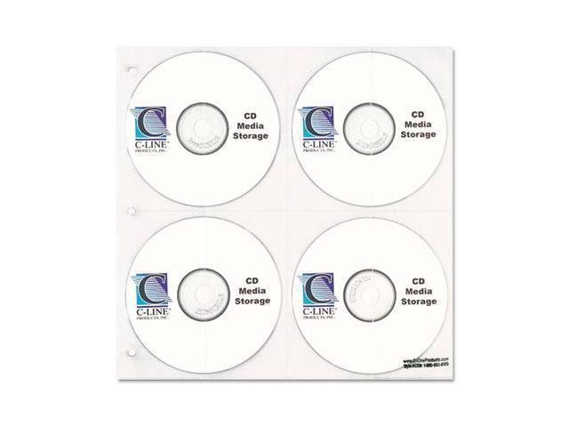 Cd/Dvd Refillable D-Ring Binder Kit, Holds 80 Disks, Black