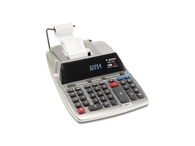 Mp11Dx Two-Color Printing Desktop Calculator, 12-Digit Fluorescent, Black/Red