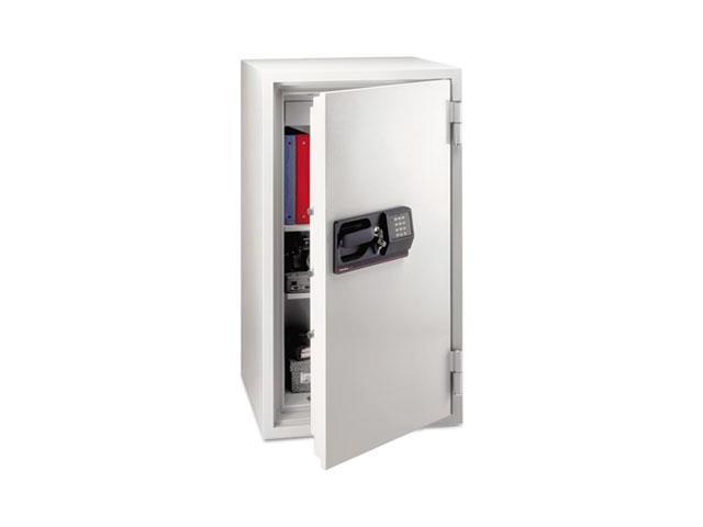 Commercial Safe, 5.8 Ft3, 25-1/2W X 23-7/8D X 47-5/8H, Light Gray