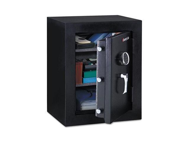 Executive Fire-Safe, 3.4 Ft3, 21-3/4W X 19D X 27-3/4H, Black