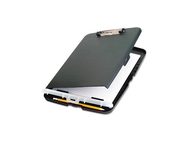 Officemate International Corp OIC83303 Clipboard- Storage Box- 10-.50in.x14-.50in.x1-.25in.- Charcoal