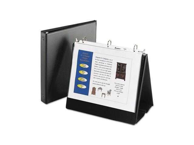 Avery Consumer Products AVE12880 Easelbinder- 1in. Capacity- 8-.50in.x11in. Sheet Size- Black