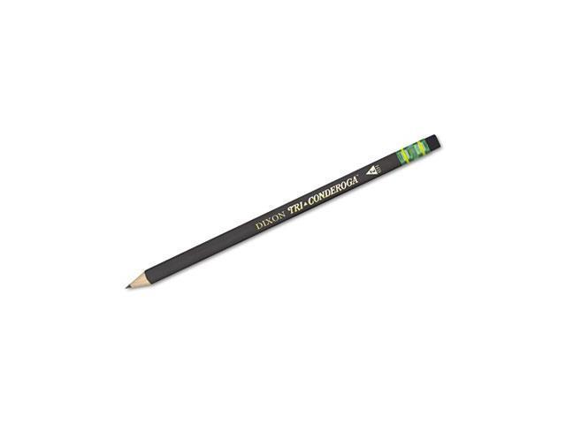Woodcase Pencil, Hb #2, Black Barrel, Dozen