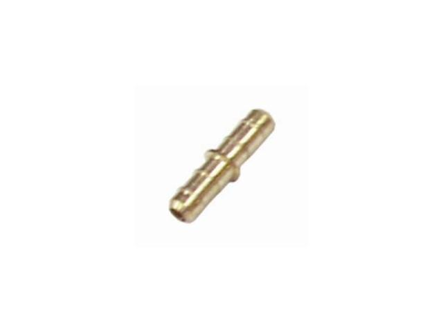 F/Line Connector Brass 1/4