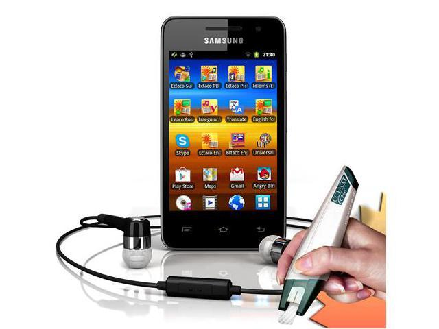 Ectaco Multilingual Learning and Translation System Through Samsung Galaxy