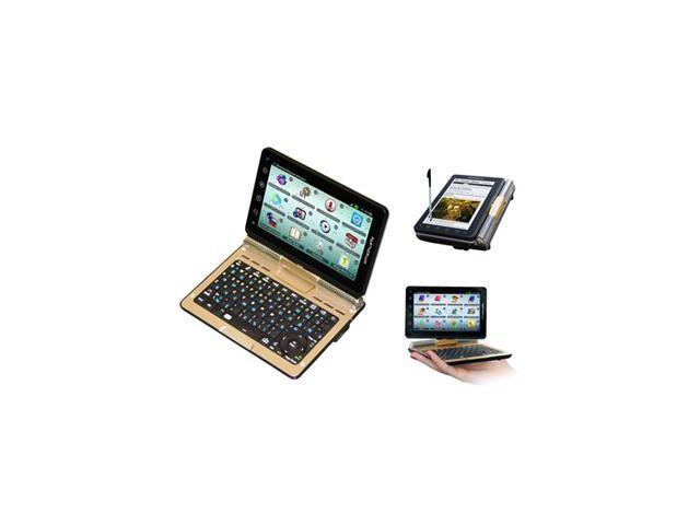 ECTACO Partner LUX English Russian Free Speech Electronic Dictionary and Android Tablet with Convertible QWERTY Keyboard