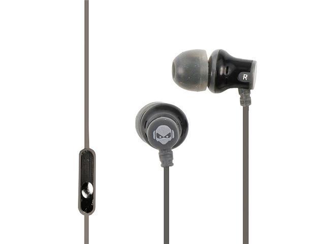 Subjekt AMP-M1153 AMP'D Earphones with Microphone - Grey