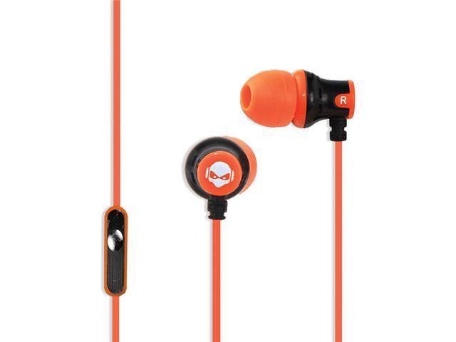 Subjekt AMP-M1152 AMP'D Earphones with Microphone - Orange
