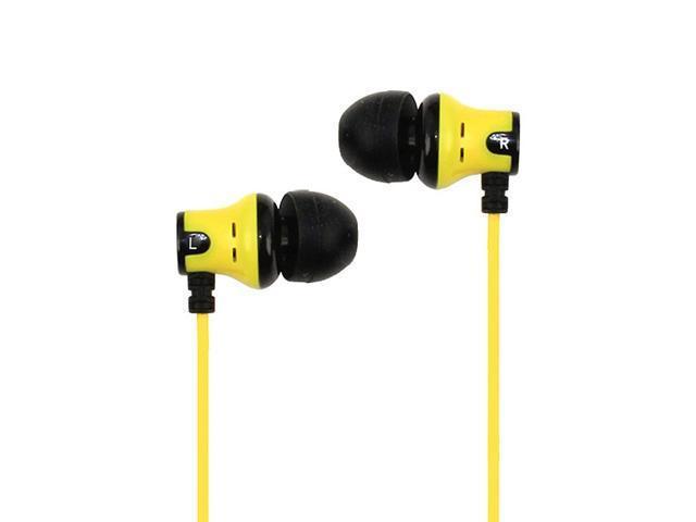 SUBJEKT AMP-1130 Amp'd Earphones - Yellow