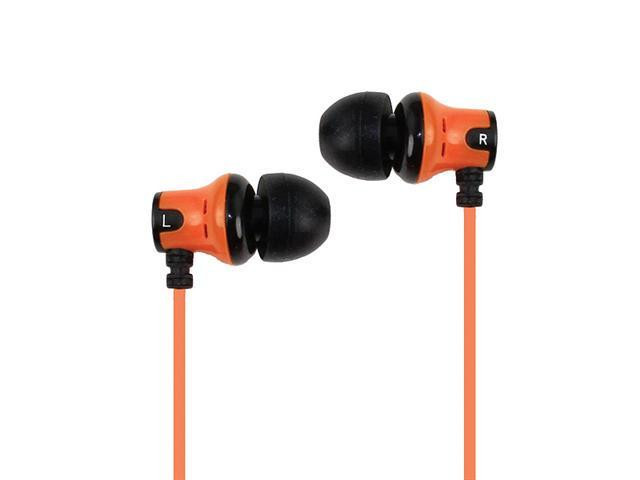 SUBJEKT AMP-1132 Amp'd Earphones - Orange