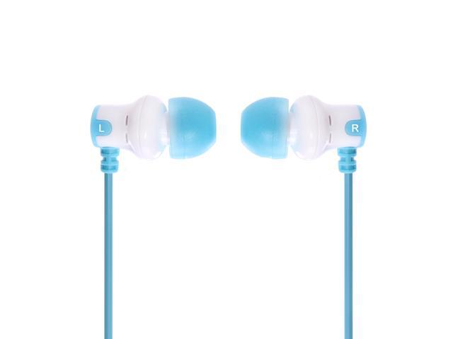 Subjket Amp'd AMP-1135 AMP'd Earphones - White / Blue