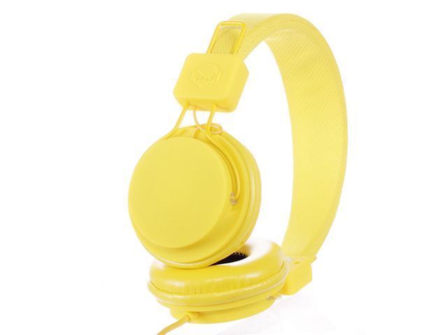 Subjekt TNT-QM1254 40mm Headphones with Mic - Yellow